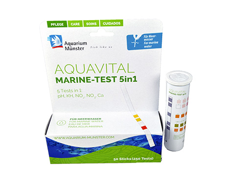 AQUAVITAL MULTITESTS 5 EN 1 AGUA SALADA