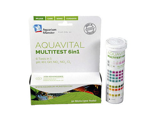 AQUAVITAL MULTITESTS 6 EN 1